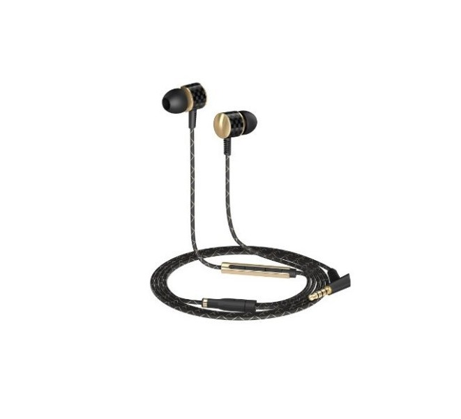 AUKEY Auriculares Smartphone Stereo In-ear con Cable 1.2m