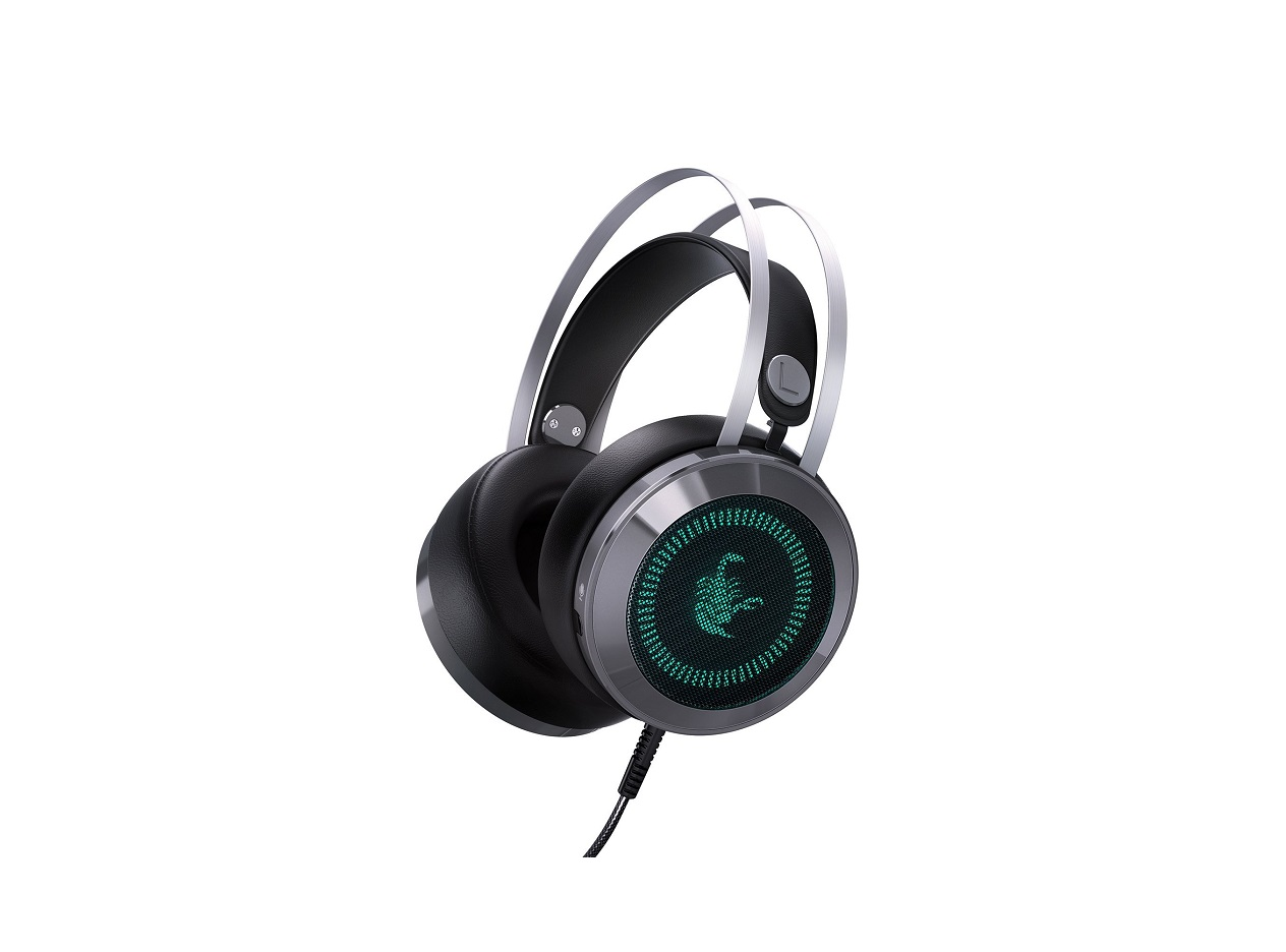 AUKEY GH-S3 Auriculares LED Gaming PC, PS4 y Xbox One
