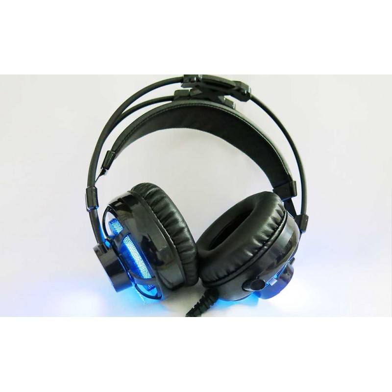 Deep Ripple Gaming Headset Negro CoolBox